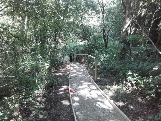 Groundwork: Public Foot path at Cheddleton, Staffordshire