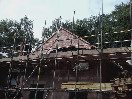 Two storey stone extension, Longsdon