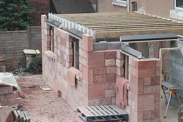 Two storey stone extension, Longsdon